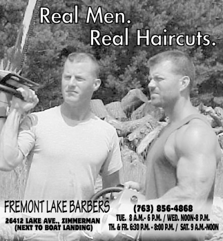 Real Men. Real Haircuts.