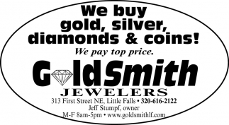We Buy Gold, Silver, Diamonds & Coins!
