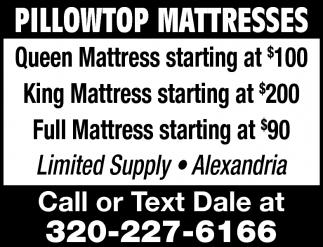 Pillowtop Mattresses