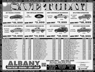 Save Today!