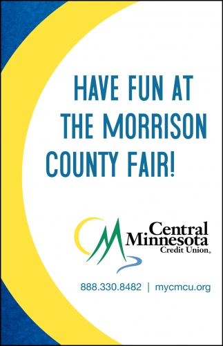 Have Fun at the Morrison County Fair!