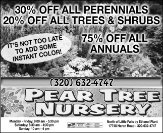 30% OFF All Perennials
