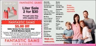 Liter Sale