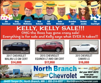 Kelly, Kelly Sale!