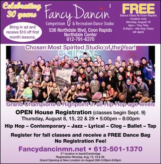 Competition & Recreation Dance Studio