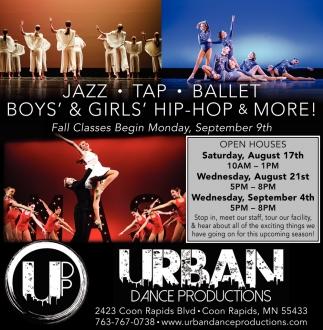 Jazz, Tap, Ballet, Hip Hop & More!