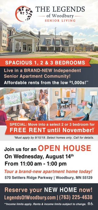 Live in Brand-New Independent Senior Apartment Community
