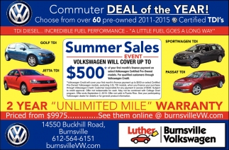 Commuter Deal of the Year!