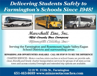 Delivering Students Safely to Farmington's Schools Since 1948