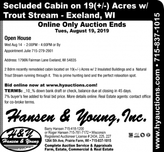Online Only Auction
