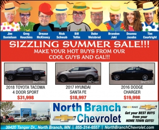 Sizzling Summer Sale!