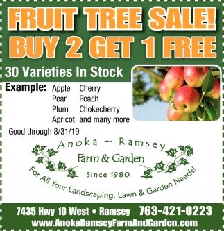 Fruit Tree Sale!
