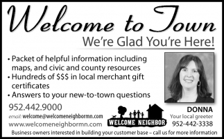 Welcome to Town