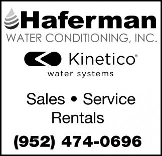 Sales, Service & Rentals