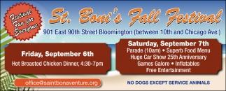 St. Boni's Fall Festival