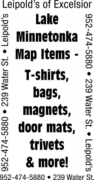 Lake Minnetonka Map Items