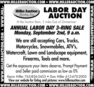 Labor Day Auction