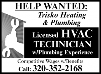 Licensed HVAC Technician