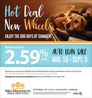 Hot Deal New Wheels