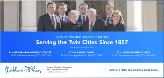 Serving the Twin Cities Since 1857