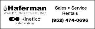 Sales, Service, Rentals