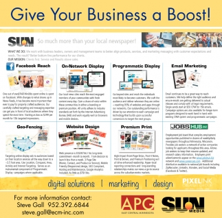 Give Your Business a Boost!