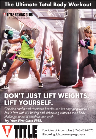 The Ultimate Total Body Workout, Title Boxing Club