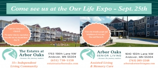 Come See Us at the Our Life Expo