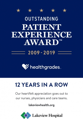 Outstanding Patient Experience Award