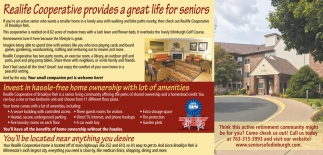 Realife Cooperative Provides a Great Life for Seniors
