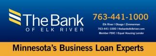 Minnesota's Business Loan Experts