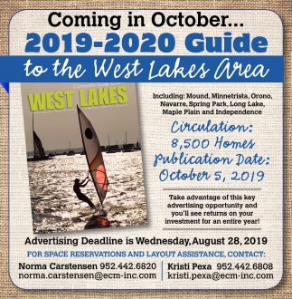 2019-2020 Guide to the West Lakes Area