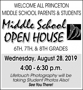Welcome All Princeton Middle School Parents & Students
