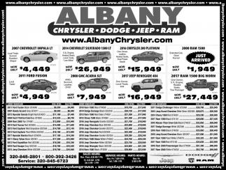 Chrysler, Dodge, Jeep & Ram