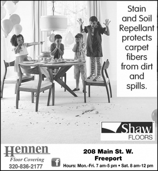 Stain and Soil Repellant Protects Carpet Fibers from Dirt and Spills