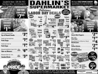 Delicious Labor Day Deals