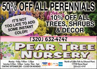 50% OFF All Perennials