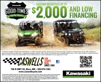 Good-Times Sales Event