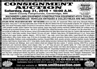 Consignment Auction