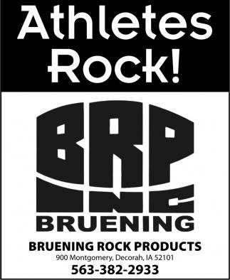 Athletes Rock!