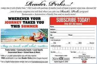 Reader Perks...!