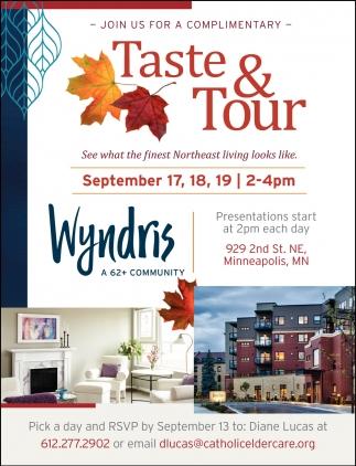 Taste & Tour