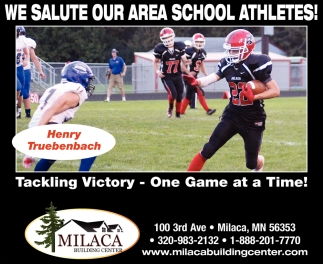 We Salute our Area School Athletes!