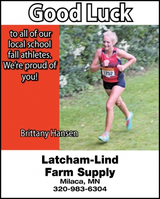 Good Luck to All of Our Local School Fall Athletes