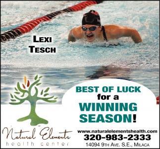 Best of Luck for a Winning Season!