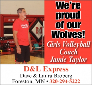 We're Proud of Our Wolves!