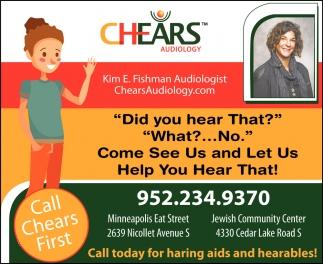 Call Chears First