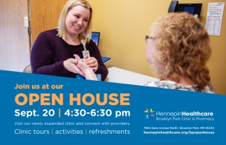 Join Us at Our Open House