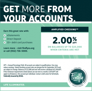 Get More from Your Accounts