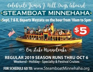Celebrate James J. Hill Days Aboard